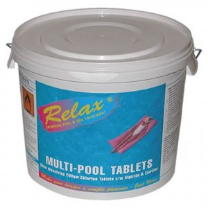 Relax 200g Multi-Pool Tabs 5kg RCH016